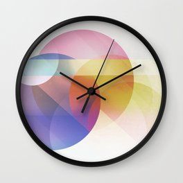 colores Wall Clock