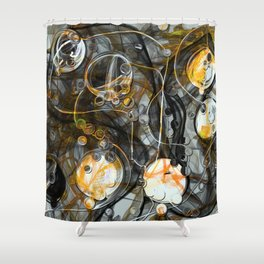 Indestructible Sorrow Shower Curtain