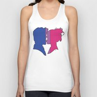 bisexual Tank Tops featuring Bisexual Love by Winter Graphics