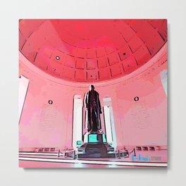 Jefferson Memorial II Metal Print