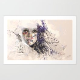 Women 5 Art Print