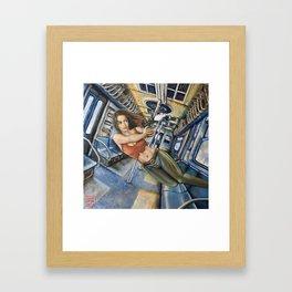 Shoot Nikita Framed Art Print