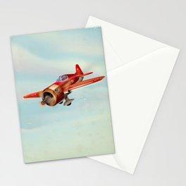Old Soviet plane Stationery Cards