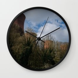 Cooling Towers Of Ironbridge Wall Clock
