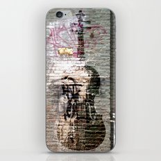 Storied violin.  iPhone & iPod Skin