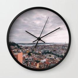 Lisbon, Portugal Wall Clock