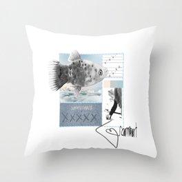summer board Throw Pillow