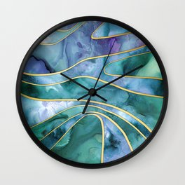 The Magnetic Tide Wall Clock