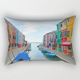 Lace Island - end of the street Rectangular Pillow