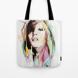 Her Impression Caught Tote Bag