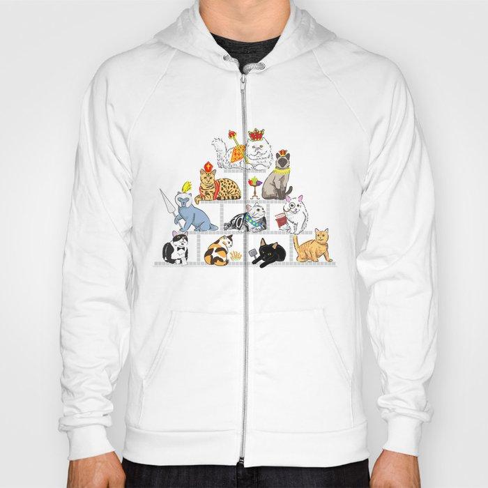Cats Pyramid Hoody