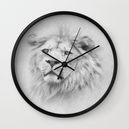 Barbary Lion Wall Clock