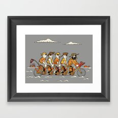Arrrr We There Yet? Framed Art Print