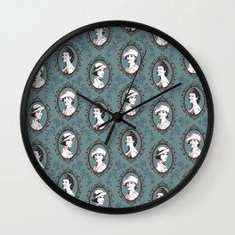 Crawley girls victorian downton Wall Clock