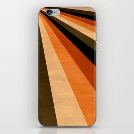 Autumn Stripes iPhone Skin