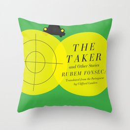 The Taker and Other Stories Throw Pillow