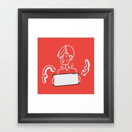 Blank Space* Framed Art Print