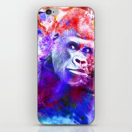 Gorillas are some of the most powerful and striking animals iPhone Skin