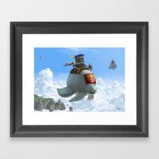 The Ferry Framed Art Print