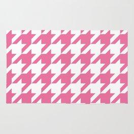 Pink Love Pattern Rug