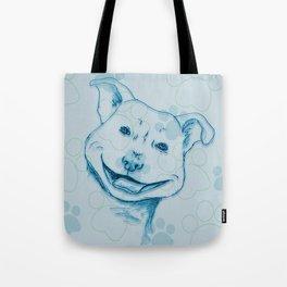 Happy PitBull Tote Bag