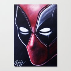 DEADLY HERO Canvas Print