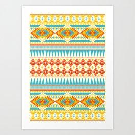 Navajo Four Art Print