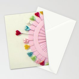 For the love of pins Stationery Cards