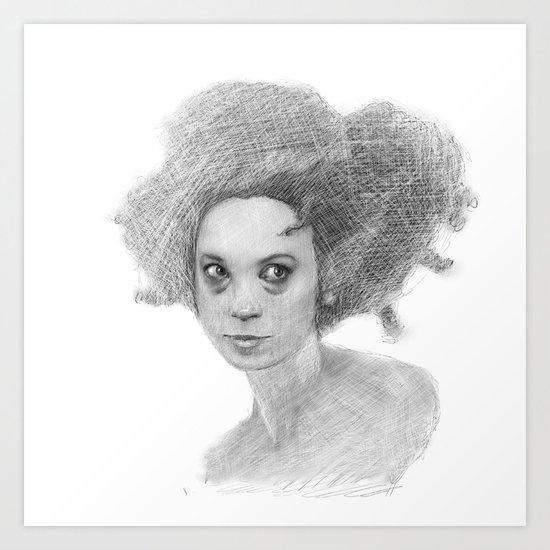 #35 - Insomniac Art Print