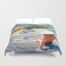 Normality Duvet Cover