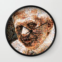 BEHIND THE FACE Ratzinger | Homosexuals Wall Clock
