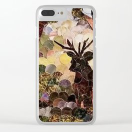 """"""" Stag """" Clear iPhone Case"""