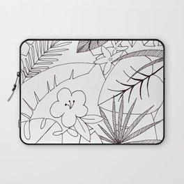 Tropical Flora Laptop Sleeve