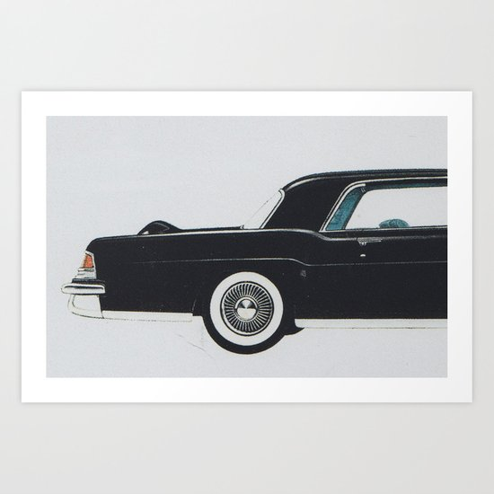 Continental mark II Art Print
