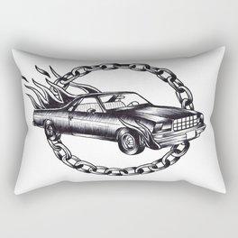 El Camino Rectangular Pillow