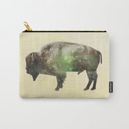 Surreal Buffalo Carry-All Pouch