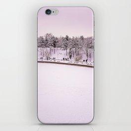 Winter in Bucharest iPhone Skin