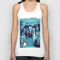 pulp fiction Tank Tops featuring PULP FICTION variant by Ale Giorgini