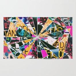 Graffiti Mosaic Rug