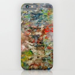 heartbeat in color iPhone Case