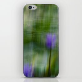 Tropical Impressionism (Purple Water Lily) iPhone Skin