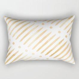 Dots & Dashes Rectangular Pillow