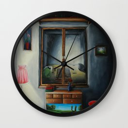 Light from the other side Wall Clock