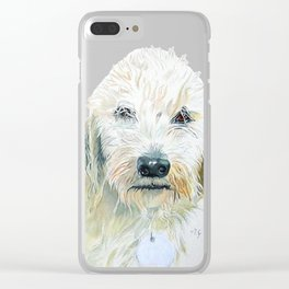 Labradoodle Pair Clear iPhone Case