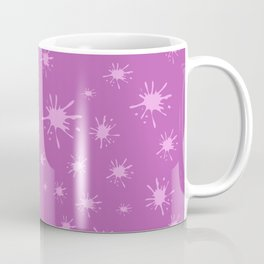 pink spots on pink background Coffee Mug