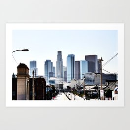 Love Angeles Art Print