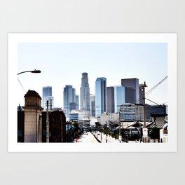 Love Angeles Art Print