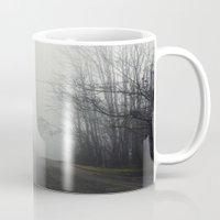 nashville Mugs featuring Nashville Fog by Jason Delkou