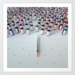 """Daily medicine"" Art Print"