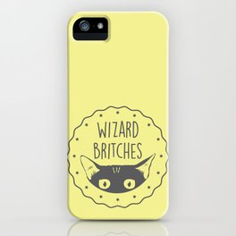 WIZARD BRITCHES iPhone Case